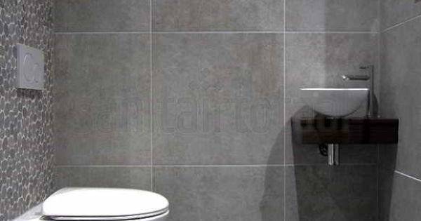 Betonlook badkamer beton vloer betonlook tegels hout wit betonlook idee n betonlook - Badkamer mozaiek grijs ...