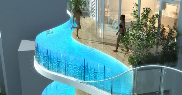 Balcony Swimming Pools In Aquaria Grande Tower - SweetyDesign. Home design, hotel