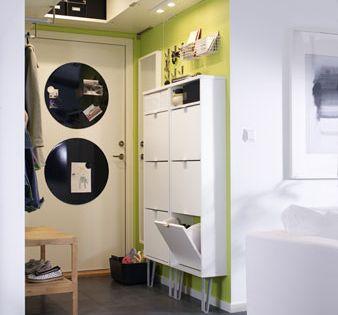 den engen flur clever einrichten quelle herstellerikea. Black Bedroom Furniture Sets. Home Design Ideas