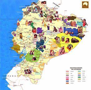 Idiomas Del Ecuador Chile Post Ecuador Ecuador Mapa Ecuatoriano