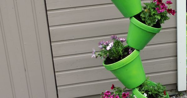 Bloempottoren creatief met bloempotten pinterest