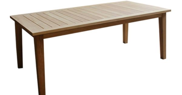 Mesa de madera de teca lorrie leroy merlin muebles de for Leroy merlin madera a medida