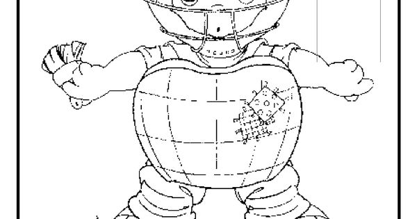 umpire coloring pages - photo#38