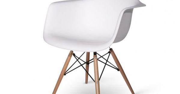 Eames daw wit staal luxe en stoelen for Cockaert interieur