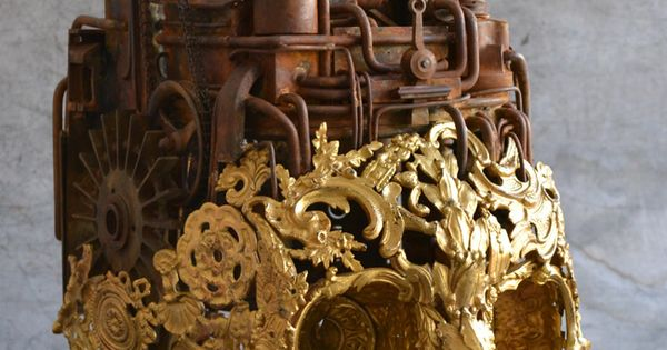 Ring In The Steampunk Decor To Pimp Up Your Home: Alain Bellino Sculpture