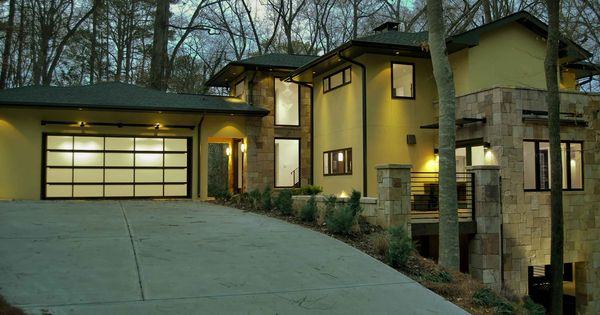 The Frank Lloyd Wright Inspired Modern Prairie Home