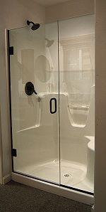 Aker Shower Fiberglass Shower Door Fiberglass Shower Tub To Shower Remodel