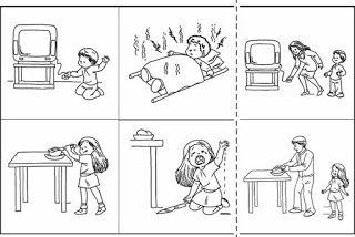 Imágenes De Objetos Peligrosos Para Colorear Autocuidado Niños Accidentes Escolares Abecedario Para Niños