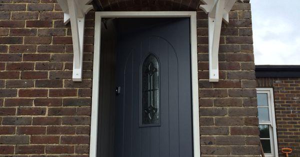 Dulux Gallant Grey The New Front Door Front Door