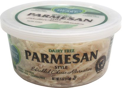 Follow Your Heart Parmesan Shredded Cheese Cheese Alternatives Vegan Parmesan Shredded Cheese