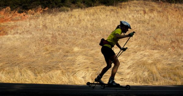 Marta Larsen From Sweden Powers Her Way Up Emigration Canyon On A Pair Of Roller Skis Aug 24 2012 Larsen Is S Senior At With Images Nordic Skiing Roller Skis Tribune