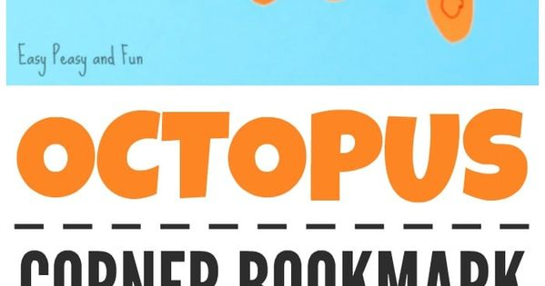 octopus corner bookmarks octopus corner bookmarks corner bookmarks bookmarks and 2566