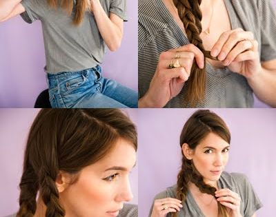 Mermaid Tail Braid diy easy diy diy beauty diy hair diy fashion