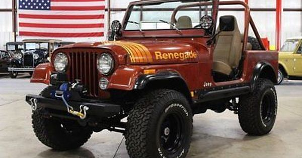 Ebay 1979 Jeep Cj Renegade 1979 Jeep Cj 7 Renegade 60177 Miles