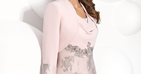 Chic And Simple Wedding Dresses By Cabotine: Cabotine Knee Length Dress And Jacket. Product Code