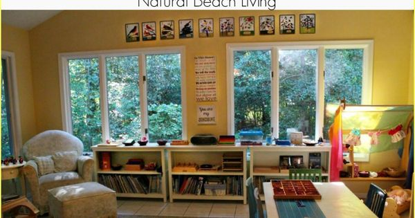Montessori Homeschool Room Paint Colors