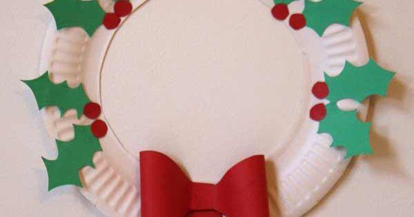 Diy un couronne de l 39 avent dans une assiette en carton - Couronne de l avent bricolage ...