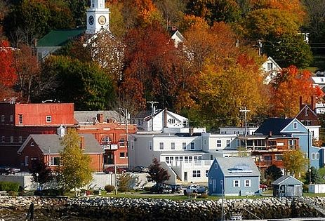 Bucksport, Maine, New England, United States. Beautiful place to visit in late summer and fall!
