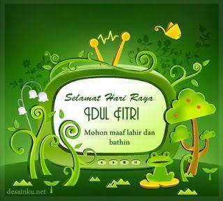 Kartu Ucapan Selamat Hari Raya Idul Fitri Kata Kata Indah
