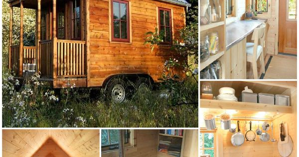 Diy Tiny House On Wheels Tiny Houses Pinterest Ice
