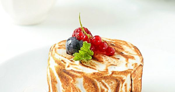 Meyer Lemon Sorbet Baked Alaska Recipe | food [art] | Pinterest ...