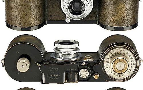 »Leica 250 Reporter FF«, 1934 ( vintage camera / film camera /