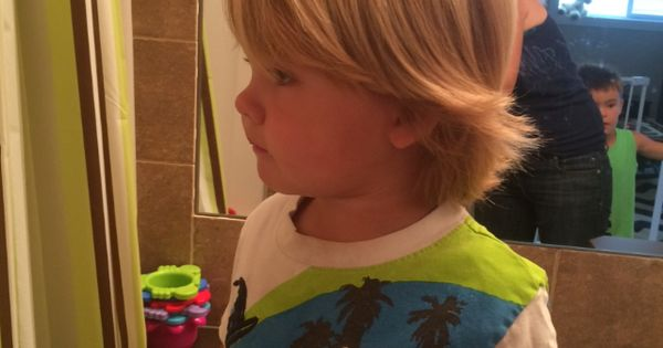 Toddler Boy Long Blonde Hair Surfer Hair Pinterest