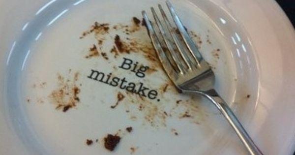 Cake Plate: Big Mistake