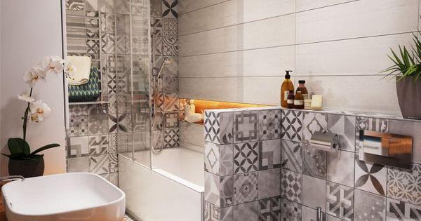Carrelage mural salle de bain panneaux 3d et mosa ques house projects and house - Carrelage mural salle de bain porcelanosa ...