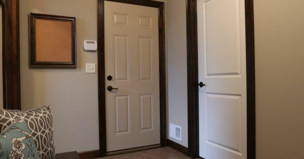 interior design ideen wei e innent ren holz dunkle schalung stilvoll heimwerken pinterest. Black Bedroom Furniture Sets. Home Design Ideas