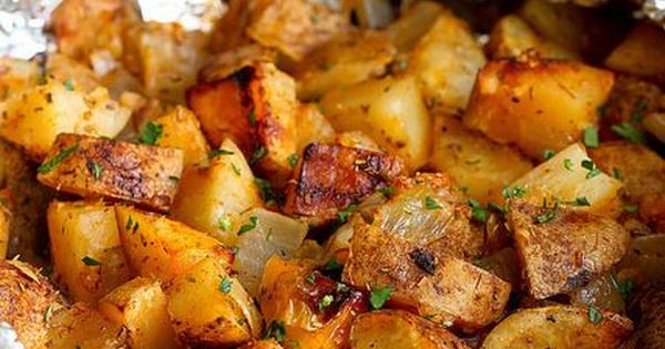 Grilled Potatoes Recipe with Rosemary & Smoked Paprika | Recipe ...