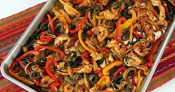 Sheet Pan Chicken Fajitas | Recipe | Homemade, Homemade ...