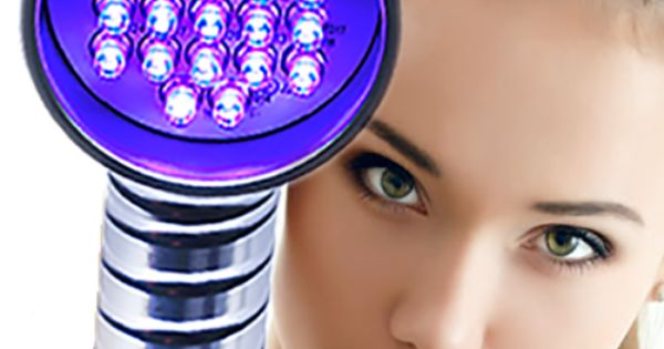 Baby Quasar Baby Blue Anti Acne Light Therapy Voor De
