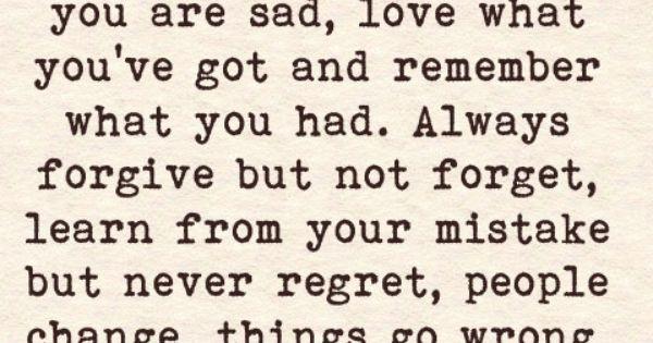 New life motto.