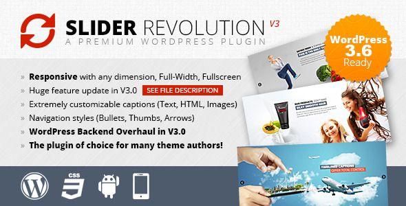 Slider Revolution Responsive Wordpress Plugin Mit Bildern See