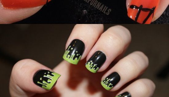 Halloween Nail Art Ideas : Unique Halloween Nails, Nail Art Designs ...