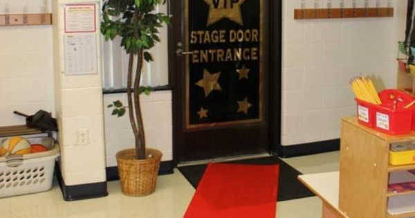 Classroom Vip Ideas : Vip stage door hollywood thened classroom decoration