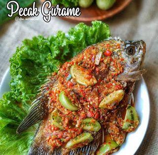 Resep Masakan Nusantara Pecak Gurame