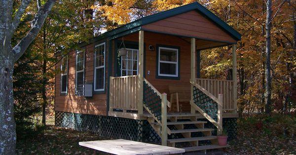 Deluxe Studio Lodge At Traverse City Koa Deluxe Cabins