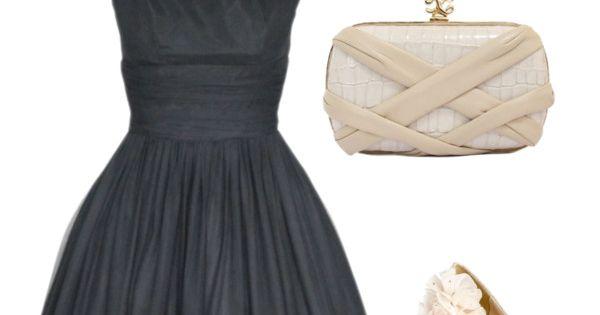 the dress reminds me of Audrey Hepburn