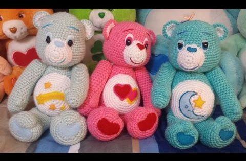 Amigurumi Care Bears Pattern : Amigurumi Crochet Care Bear Tutorial Meladoras Creations ...