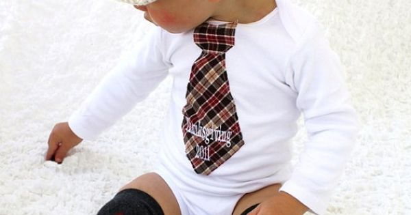 such a cute baby boy outfit!