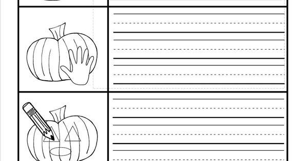 How to carve a pumpkin writing activity kindergarten