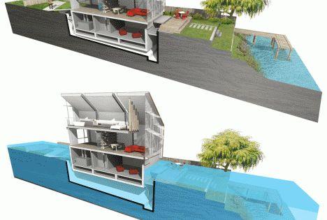 Amphibious architecture 12 flood proof home designs architecture pinterest architecture At home architecture gordes 84