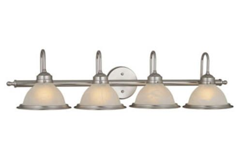 Vanity Light Bar Menards : Saturn 4 Light Vanity Bar Light at Menards For the Home Pinterest Vanities, Brushed Nickel ...