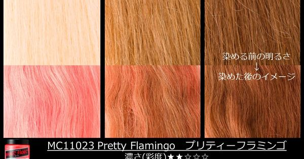 Manic Panic Pretty Flamingo On Different Shades Of Blonde
