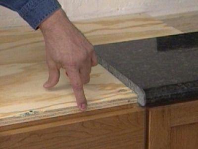 Installing A Do It Yourself Granite Countertop Diy Granite Countertops Granite Countertops Granite Tile Countertops