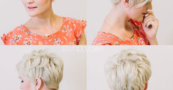 Whippy Cake gorgeous pixie hair update