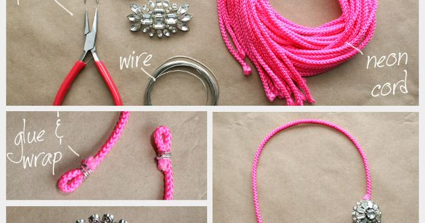 Statement Necklaces DIY diy jewelry