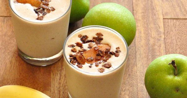 baked apple smoothie: ◦1/4 cup low-fat plain OR vanilla yogurt (your preference)